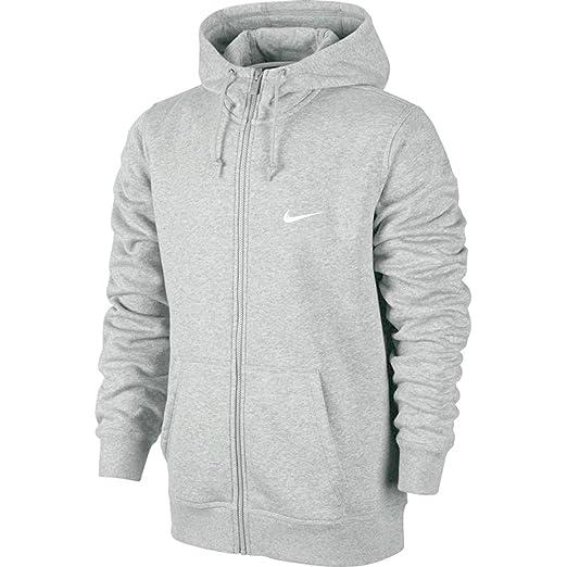 81e55d075 Nike Men's Club Swoosh Full Zip Fleece Hoodie at Amazon Men's ...