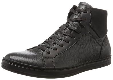 Kenneth Cole Design 10258, Baskets Hautes Homme, Gris (Dark Grey), 42 EU