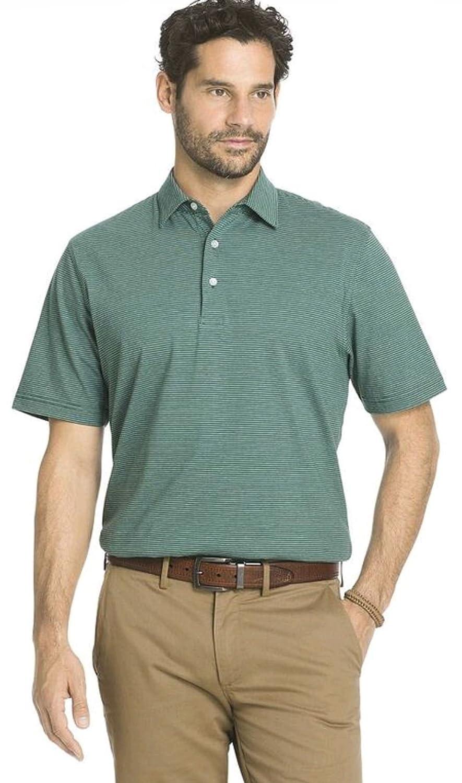 47a86ef3c Arrow Mens Cambridge Club Classic-Fit Striped Polo Shirt (X-Large ...