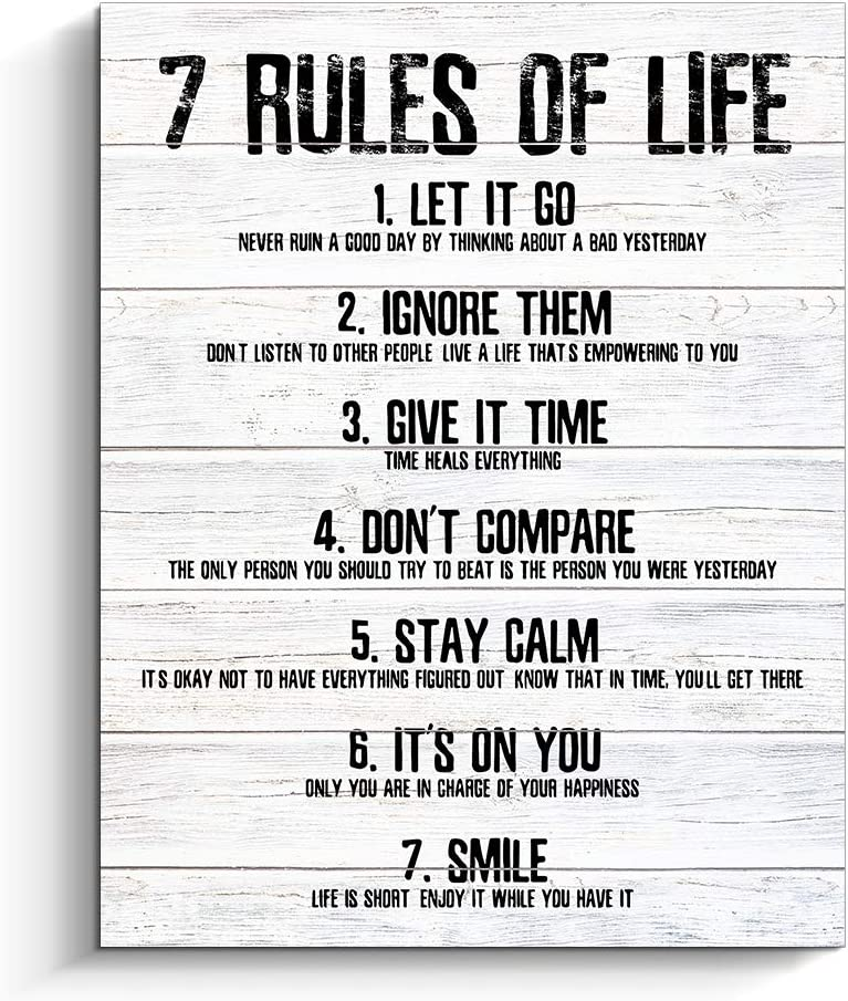 Quotes life rules of 40 Deep