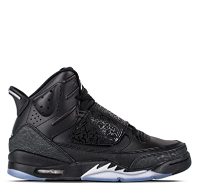 d07626e3520b68 JORDAN SON OF BG boys basketball-shoes 512246-010 6Y - BLACK METALLIC SILVER