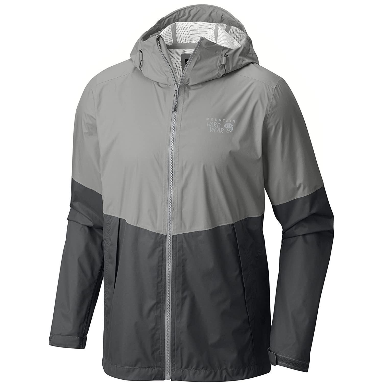 マウンテンハードウェア指数Jacket – Men 's B01GUI1QXU Medium|Manta Grey Manta Grey Medium