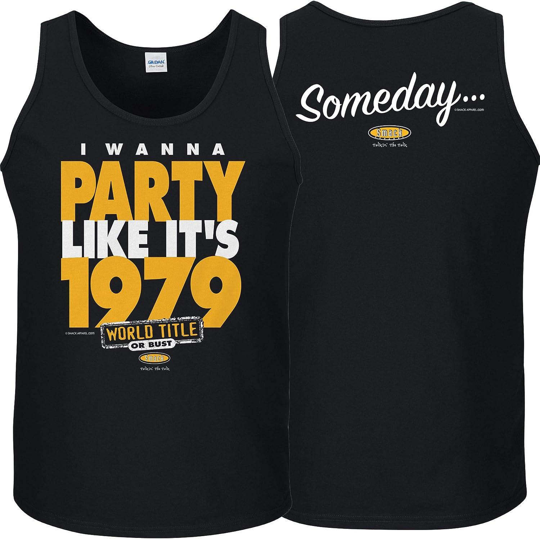 Someday I Wanna Party Like Its 1979 Sm-5X Black T Shirt Smack Apparel Pittsburgh Baseball Fans