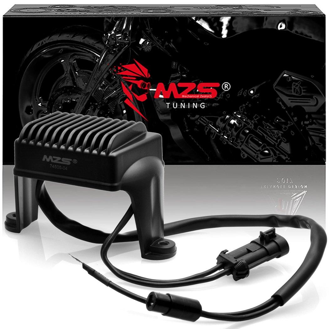 MZS 74505-04 Voltage Regulator Rectifier for 2004-2005 Touring Models FLHT FLHR FLTR 49-8267 49-8347 H0504 Harley Davidson 74505-04 49-8267 49-8347