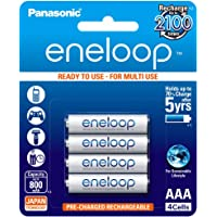 Panasonic eneloop BK-4MCCE/4BN Rechargeable Battery - Pack of 4