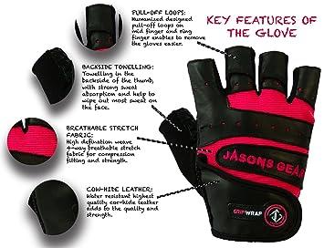 Guantes de gimnasio para mujer, de Jasons Gear: Amazon.es: Deportes y aire libre