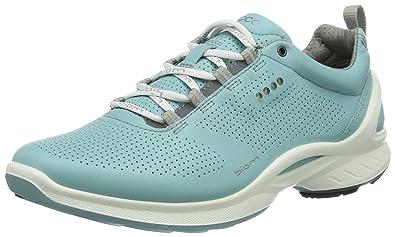 Ecco Biom Fjuel, Chaussures Multisport Outdoor Femme, Bleu (1241Aquatic), 42 EU