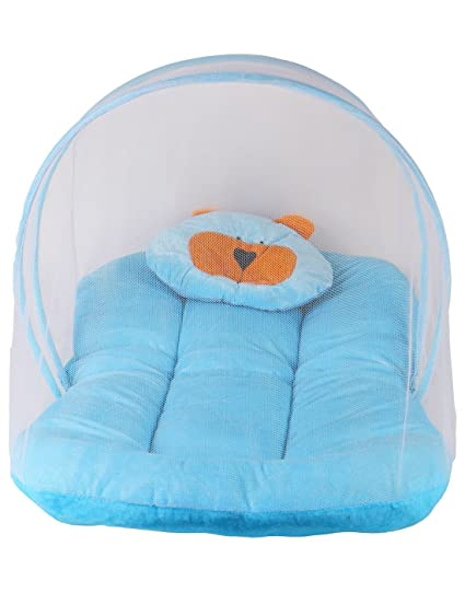 dacee244f Buy Baby Comfort Velvet Baby Mosquito Net Bed With Pillow Online at Low  Prices in India - Amazon.in