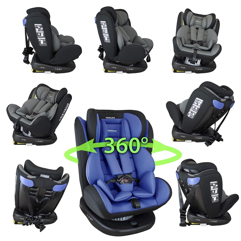 XOMAX 916 Auto Kindersitz mit 360° Drehfunktion und ISOFIX