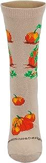 product image for Pumpkins Tan Cotton Ladies Socks