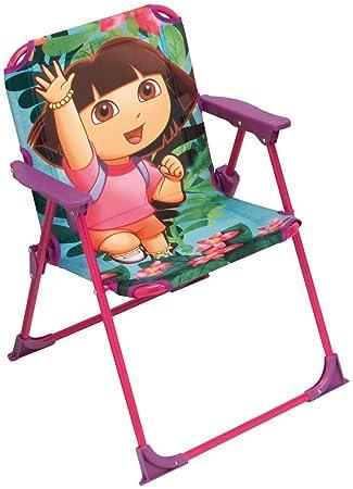 Silla plegable Dora la exploradora (Medidas:52x35x39 cm ...