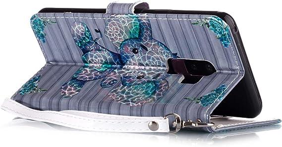 WIWJ Kompatibel f/ür Samsung Galaxy Note 10 H/ülle 3D Glitzer Muster PU-Leder Handyh/üllen Magnet Wallet Flip Tasche Slim Inner Silikon Cases 360 Klapph/üllen Schutzh/ülle Holster f/ür Handys-Blau Elefant