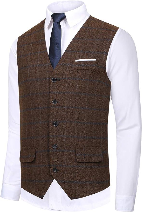 Hanayome Men's Gentleman Business Suit Vest