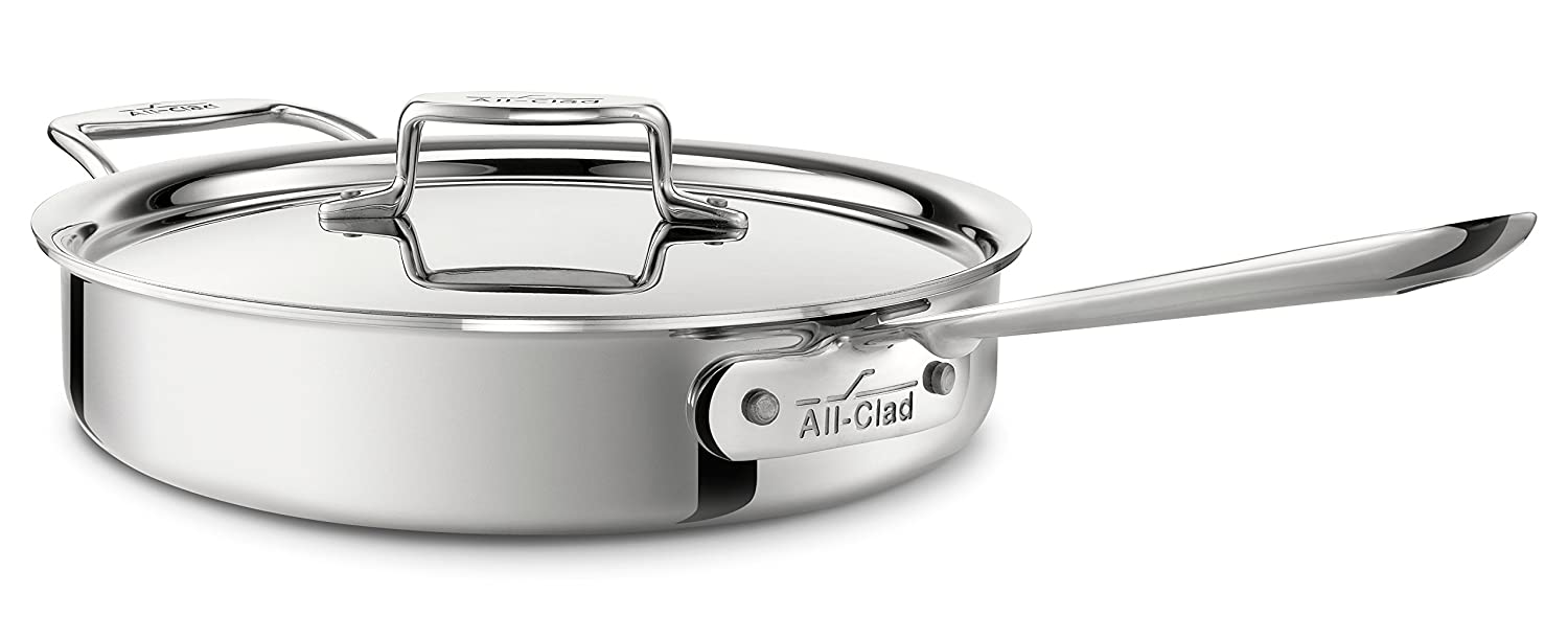 amazon com all clad 4403 stainless steel tri ply bonded