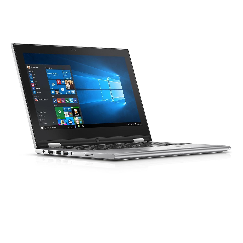 Dell Inspiron i3158-3275SLV 11.6 Inch 2-in-1 Touchscreen Laptop (6th Generation Intel Core i3, 4 GB RAM, 128 GB SSD)