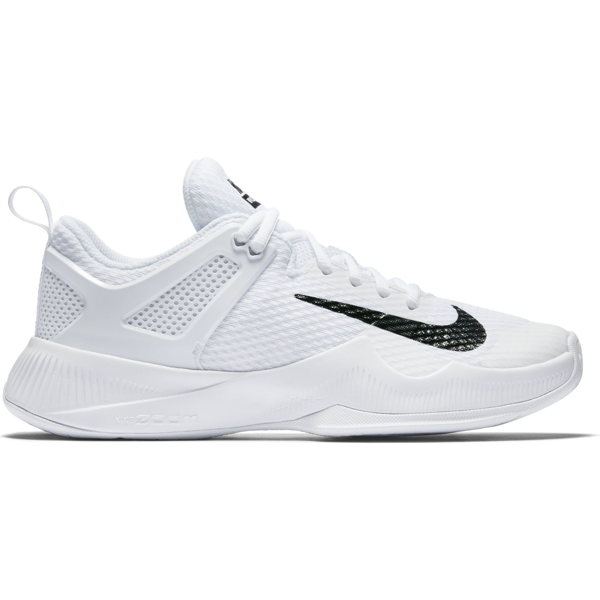 Galleon - Nike Women s Air Zoom Hyperace Volleyball Shoes White Black Size  7 M US 90434165ea