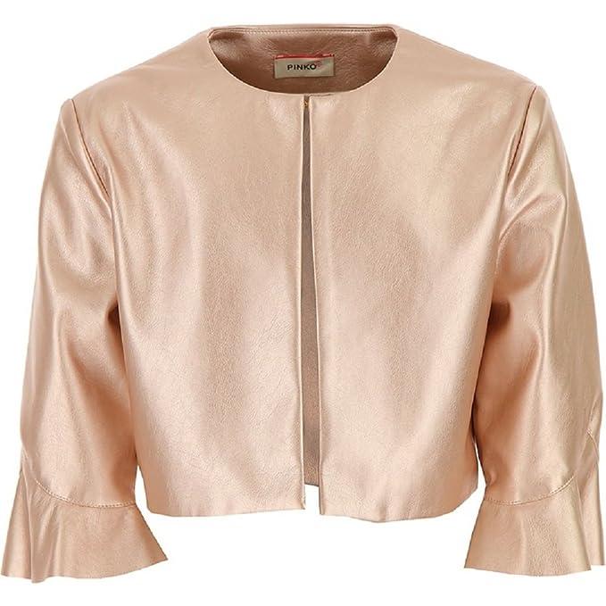 stili di moda primo sguardo vendita a buon mercato usa COPRISPALLE PINKO IN ECOPELLE LAMINATA, Rose, L(14A), Pinko ...