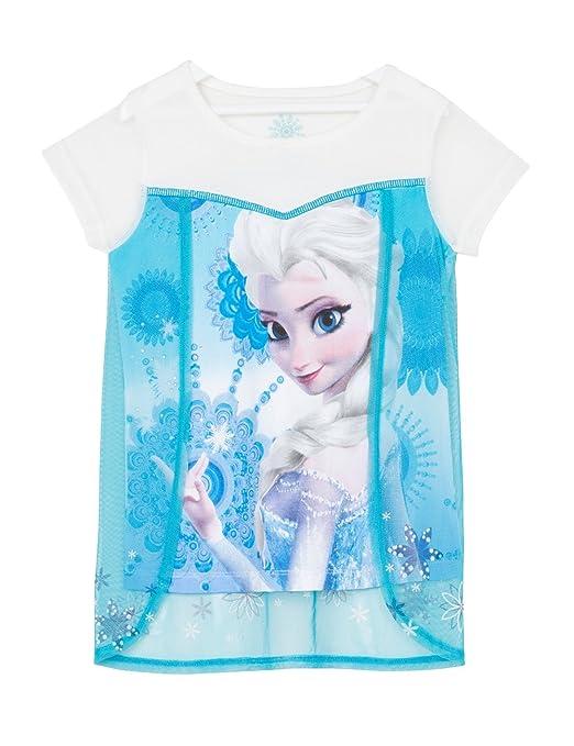 4 opinioni per Desigual TS_SNOWQUEEN-T-shirt Bambina Bleu (Turquesa) 14 anni