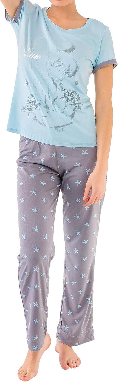 Disney Tinkerbell - Pijama para Mujer - Campanilla