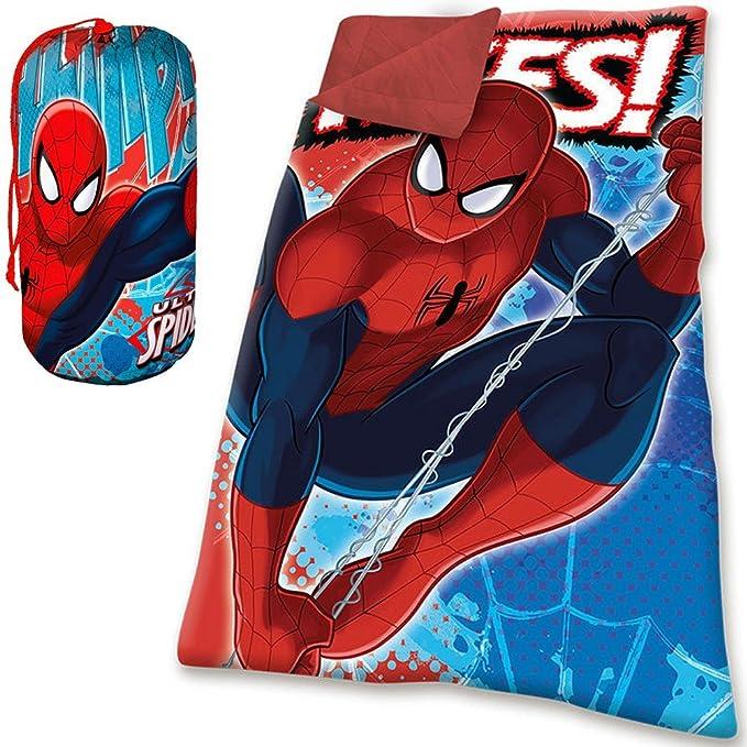 Kids Euroswan Spider-Man - Saco de Dormir: Amazon.es: Juguetes y ...