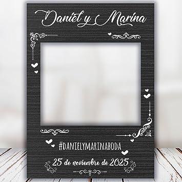 setecientosgramos Photocall Night| Ventana Night | Marco Night | PhotoBooth Night (Cartón 4mm) (70x100)