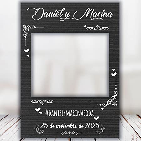 setecientosgramos Photocall Night| Ventana Night | Marco Night | PhotoBooth Night (Cartón 4mm) (90x120)