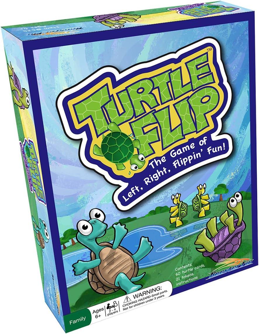 Amazon.com: Turtke Flip Juego de mesa familiar - Tarjetas de ...