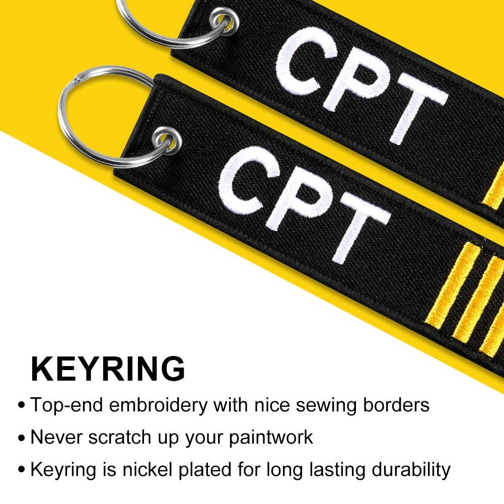 Cars and Gifts -18L 35R Scooters Melife 3 Pack Flag Keychain for Motorcycles Pilot Keychain Tag with Key Ring