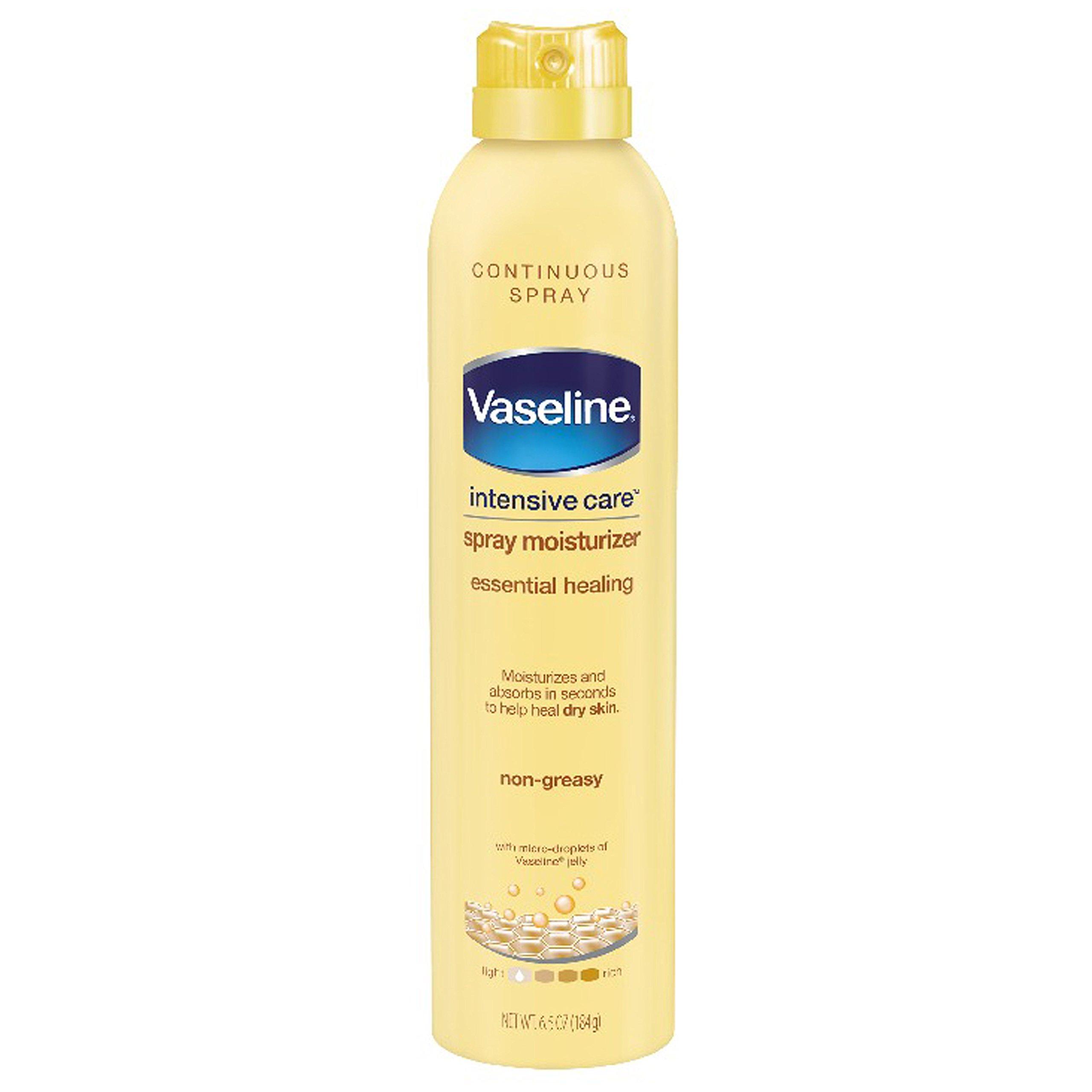 Vaseline Intensive Care Spray Lotion, Essential Healing, 6.5 oz