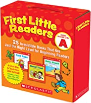 First Little Readers Parent Pack: Guided Reading Level A: 25 Irresistible Books That Are Just the Right Level for Beginning