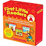 First Little Readers Parent Pack: Guided Reading Level A: 25 Irresistible Books That Are Just the Right Level for Beginning R