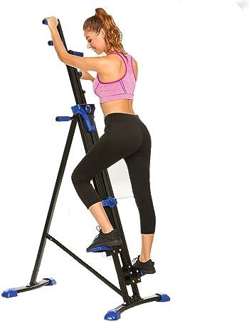 dtemple vertical Climber Fitness escalada máquina Fitness entrenamiento de Cardio Trainer para gimnasio en casa con pantalla digital