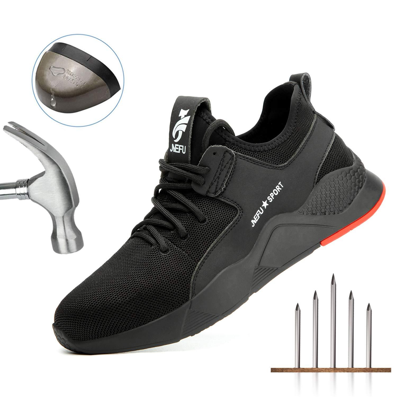 2a8bc54495e3c Amazon.com: UPSTONE Work Shoes Mens, Mesh Breathable Lightweight ...