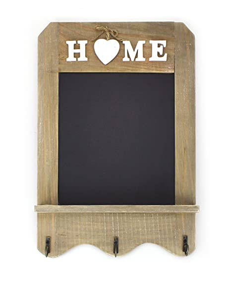 Beau Country Cottage Memo Board In Heart With Stands To Label With Chalk, 20 X  20 Cm Kitchen Blackboard Chalkboard Heart On Stand For Small Notes:  Amazon.co.uk: ...