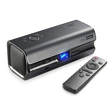 iRulu Mini DLP Proyector de Cine en casa, HiBeam H6 Full HD Mini ...