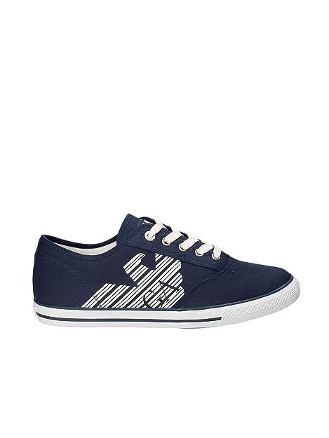 Scarpe Blu Uomo Emporio Ea7 Armani 248077 Cc299 Sneakers 06935 W9I2EYDH