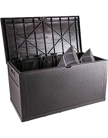 Outdoor Storage Benches Amazon Com