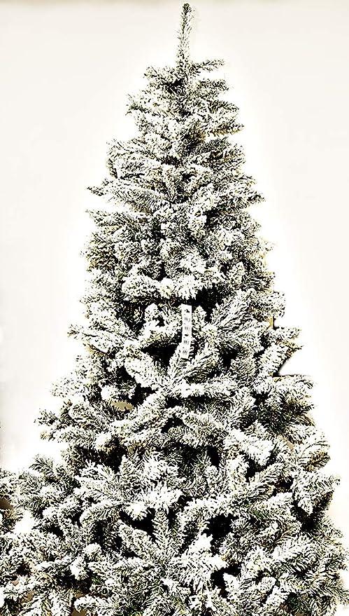 Albero Di Natale H 240.Albero Di Natale Monterey Apertura Ad Ombrello 240 Cm Amazon It Casa E Cucina