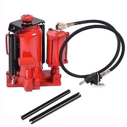 amazon com goplus 20t ton air hydraulic bottle jack 40 000lb heavy rh amazon com Bottle Jack Hyd Parts Walker Hydraulic Jack Repair Parts