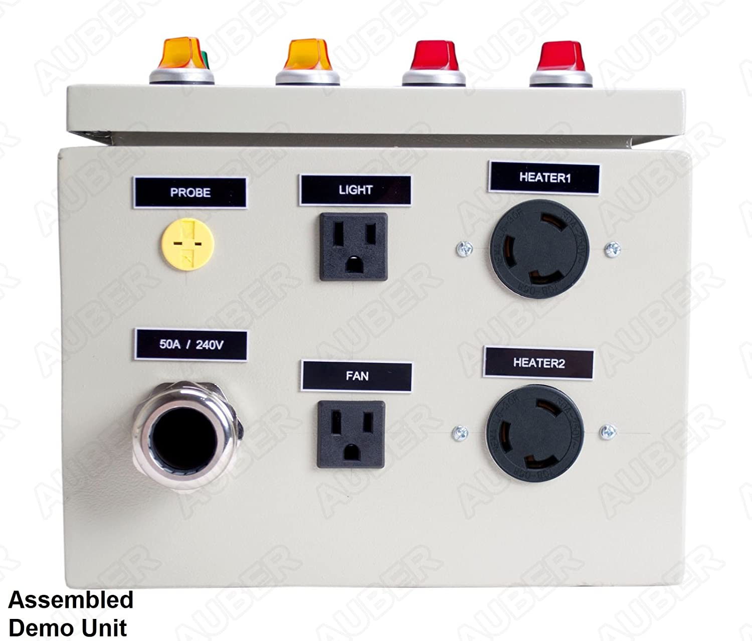 Powder Coating Oven Controller Kit W Light Fan 240v Pid Wiring Diagram Control 50a 12000w Pco2 Lf Garden Outdoor