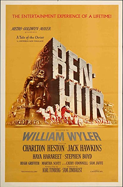 Image result for ben hur movie poster amazon