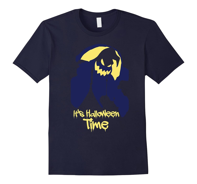 It's Halloween Time Novelty Themed Holiday Tee Shirt-Art