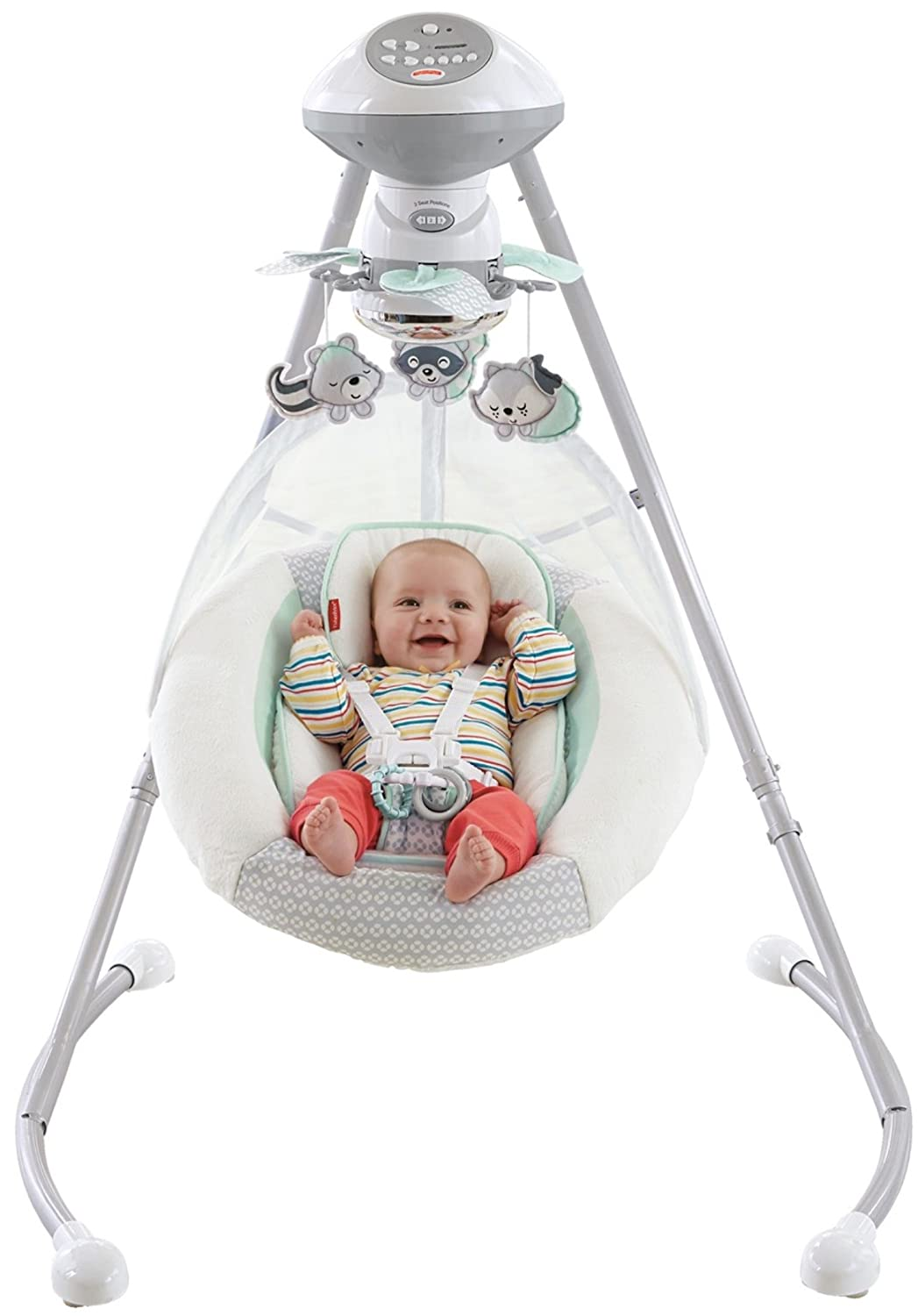 Fisher-Price Moonlight Meadow Cradle n Swing