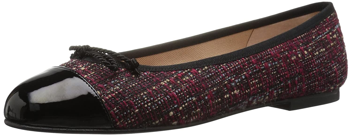 French Sole FS/NY Women's Vanity B0711M27PY 9.5 B(M) US|Black/Red