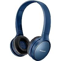 Panasonic RP-HF410BE-A Athleisure Style Wireless Headphone w Mic, Blue