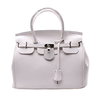 Glamour Elegant PU Faux Leather Padlock Designer Inspired Shopper Hobo Tote  Bag Purse Satchel Handbag High c2afdaa6021ca