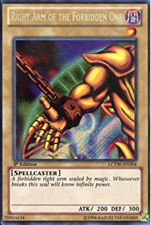 LCYW-EN305 Left Arm of the Forbidden One Secret Rare Unlimited New