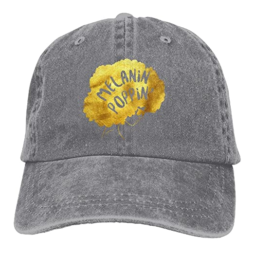 Arsmt Melanin Poppin Denim Hat Adjustable Men Tactical Baseball Caps ... 03d3062a0f5b