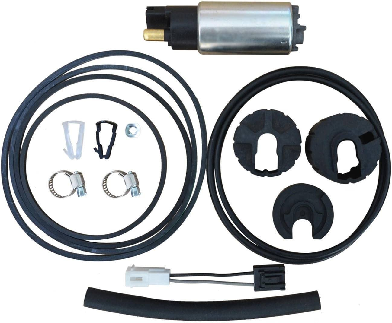 Electric Fuel Gas Pump w Accessories for Ford Lincoln Mazda Mercury E2471