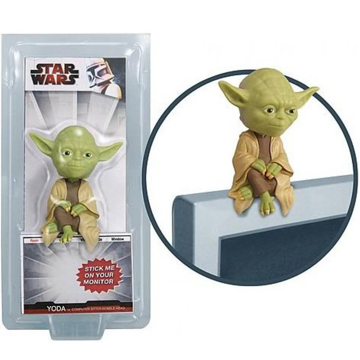 Star Wars Yoda Computer Sitter Figure